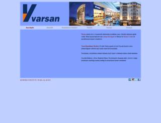 varsan.com.tr screenshot