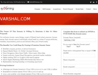 varshal.com screenshot