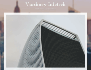 varshneyinfotech.net screenshot
