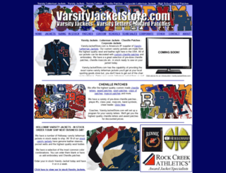 varsityjacketstore.com screenshot