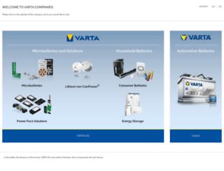 varta.nl screenshot
