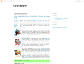 varthdeider.blogspot.com screenshot