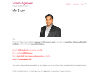 varunagarwal.com screenshot