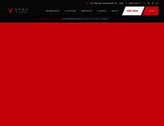 vasafitness.com screenshot