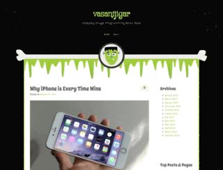vasanijeegar.wordpress.com screenshot