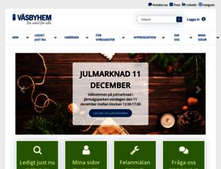 vasbyhem.se screenshot