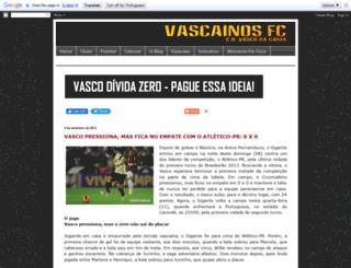 vascainosfc.blogspot.com.br screenshot