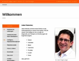 vasektomie-ohne-skalpell-dr-lange.de screenshot