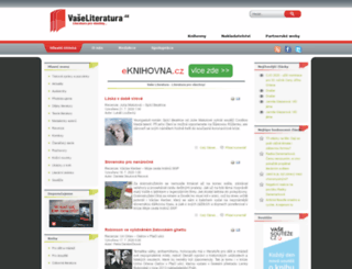 vaseliteratura.cz screenshot