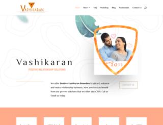 vashikaran.org screenshot