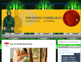 vashikaranspecialistmaster.wordpress.com screenshot