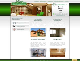 vasirevestimientos.com screenshot