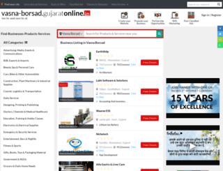 vasna-borsad.gujaratonline.in screenshot