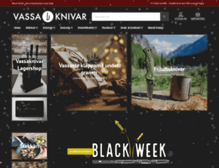 vassaknivar.se screenshot