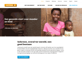 vastenaktie.nl screenshot