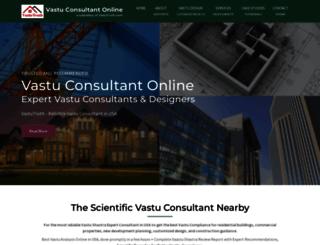 vastuconsultantonline.com screenshot