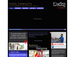 vastusankalpa.com screenshot