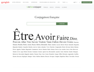 vatefaireconjuguer.com screenshot
