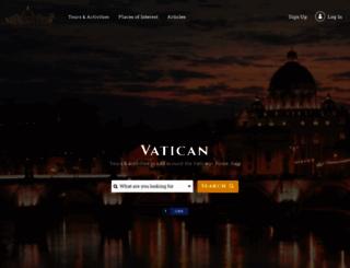 vatican.com screenshot
