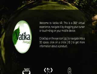 vatika.ae screenshot
