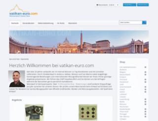 vatikan-euro.com screenshot