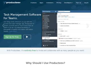 vatsana.producteev.com screenshot