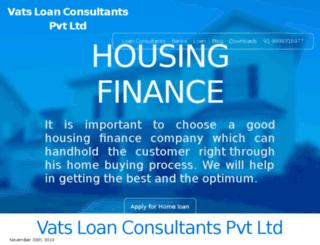vatsloanconsultants.com screenshot