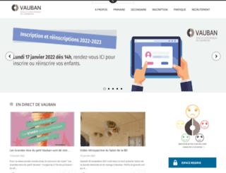 vauban.lu screenshot