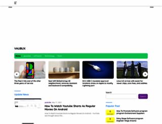vaubux.com screenshot