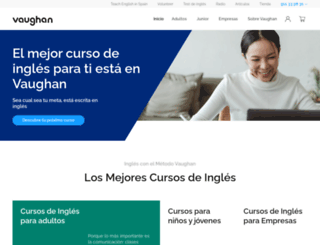 vaughanclassroomgym.com screenshot