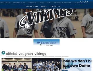 vaughanvikings.com screenshot
