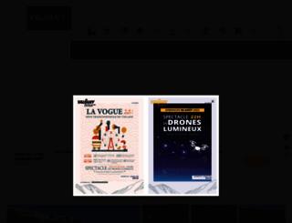 vaujany.com screenshot