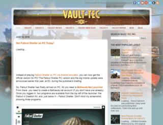 vault-tec-inc.blogspot.com screenshot