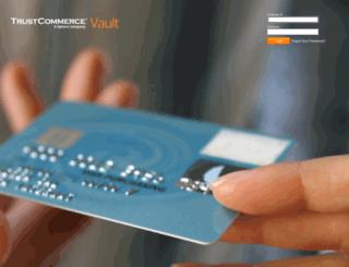 vault.trustcommerce.com screenshot