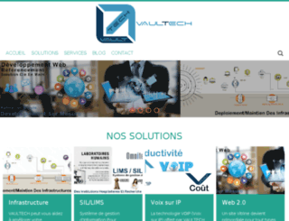 vaultech.net screenshot