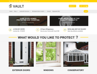 vaultnw.co.uk screenshot