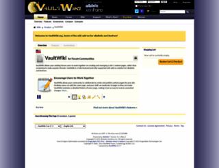 vaultwiki.org screenshot