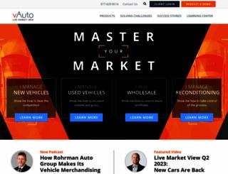 vauto.com screenshot