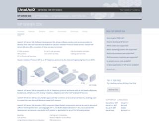 vaxvoice.com screenshot