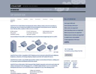 vaxvoip.com screenshot