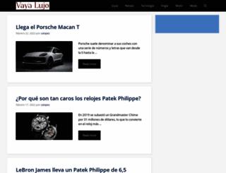 vayalujo.com screenshot