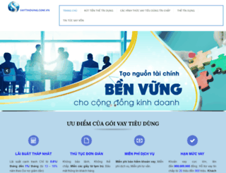 vaytindung.com.vn screenshot