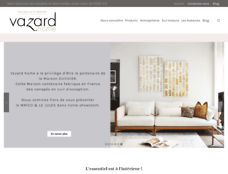 vazard.com screenshot