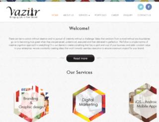 vaziir.com screenshot