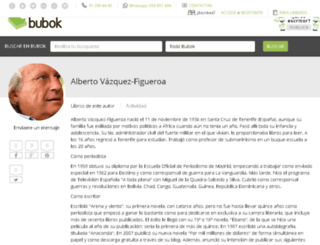 vazquezfigueroa.bubok.com screenshot