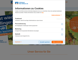 vb-flein-talheim.de screenshot