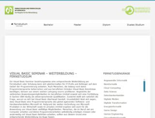 vb-seminar.de screenshot