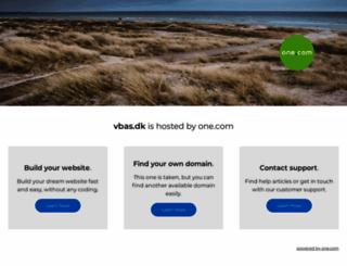 vbas.dk screenshot