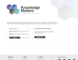 vbcourse1.knowledgematters.com screenshot