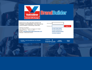 vbrandbuilder.brandmuscle.net screenshot
